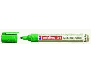 EDDING Permanentmarker 21 EcoLine, nachfüllbar, Grün